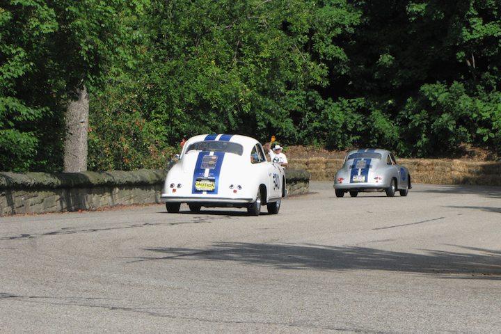 Pair of Porsche 356s