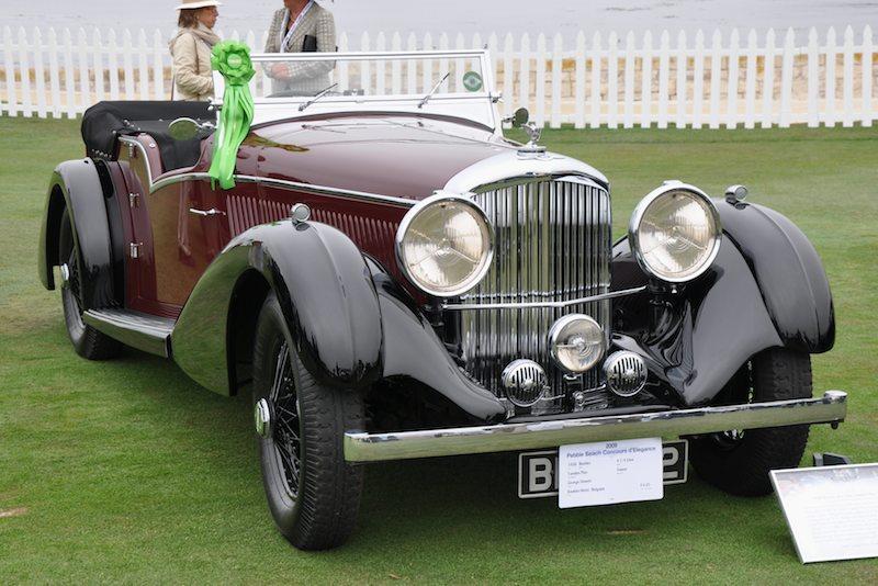 1936 Bentley 4¼ Litre Vanden Plas Tourer