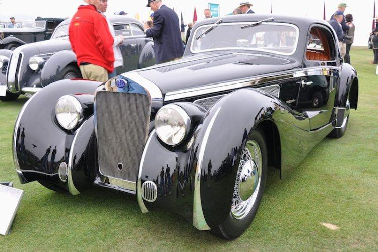 1937 Delage D8S Letourneur et Marchand Aerodynamic Coupé