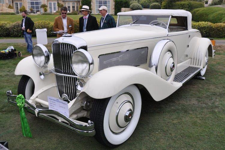 1932 Duesenberg J Bohman & Schwartz Convertible Coupe