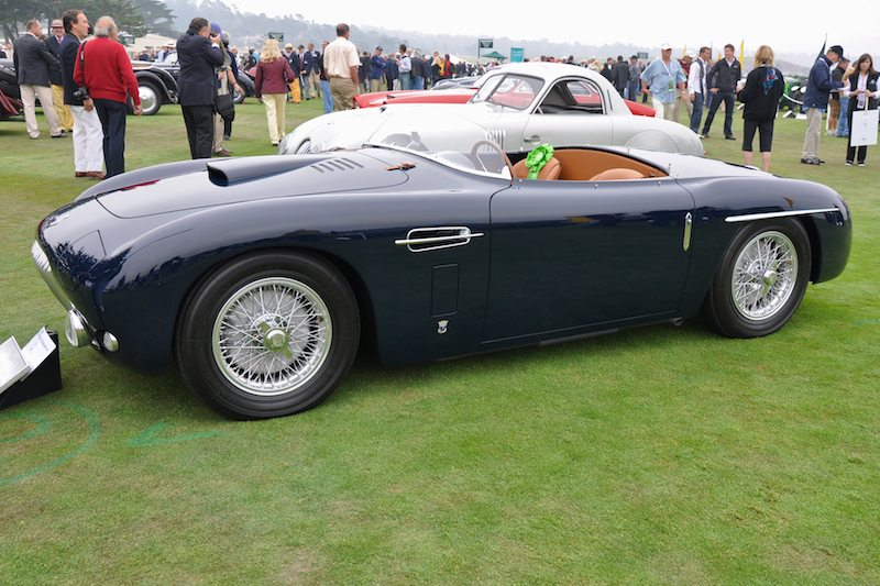 Best of Show Nominee 1953 Siata 208CS Stabilimenti Farina Spyder
