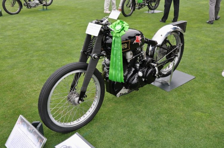 1948 Vincent-HRD Black Shadow Special