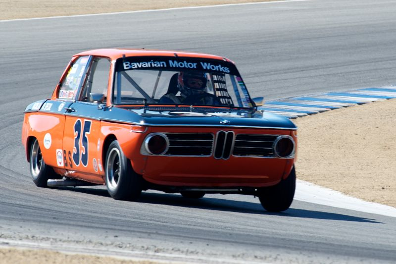 Tom Brecht got second in his 1968 BMW 2002 T/A.