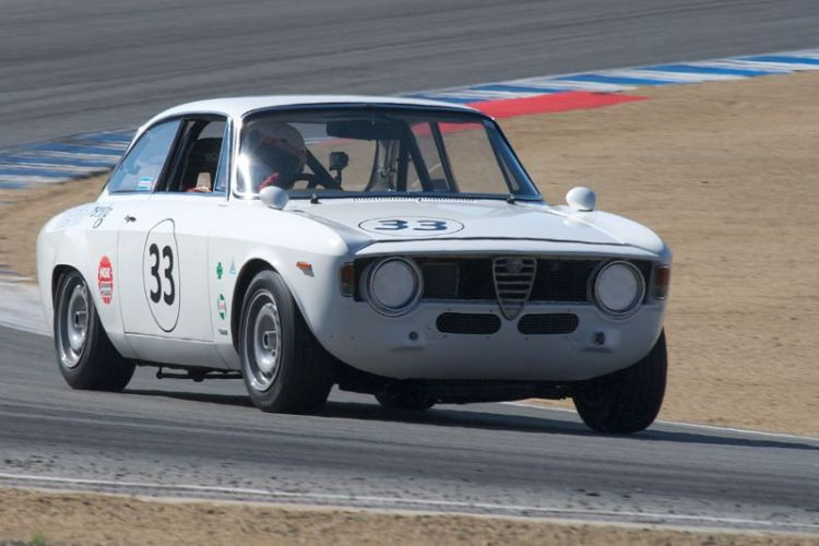 Anthony Rimicci's 1965 Alfa Romeo GTA.
