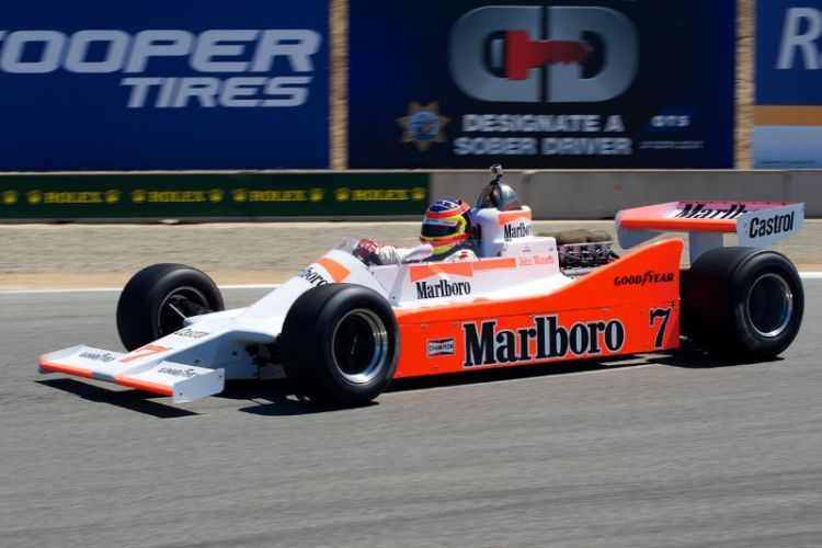 Zak Brown's 1979 McLaren M28.