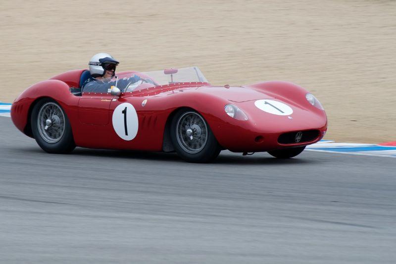 Andrew Cannon's 1956 Maserati 250S.