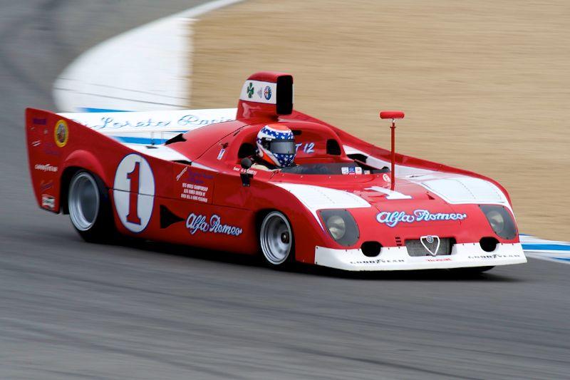 Joseph DiLoreto's 1974 Alfa Romeo FIA Prototype.