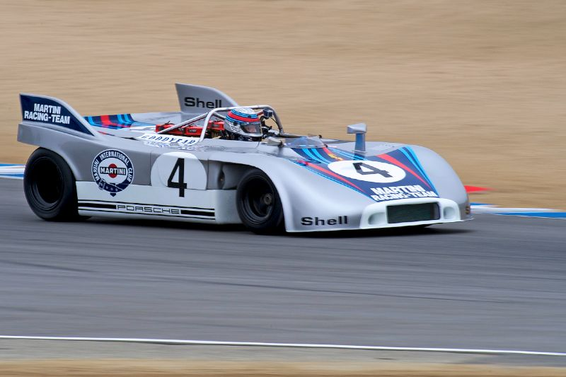Porsche 908/3 driven by Phil Daigrepont.