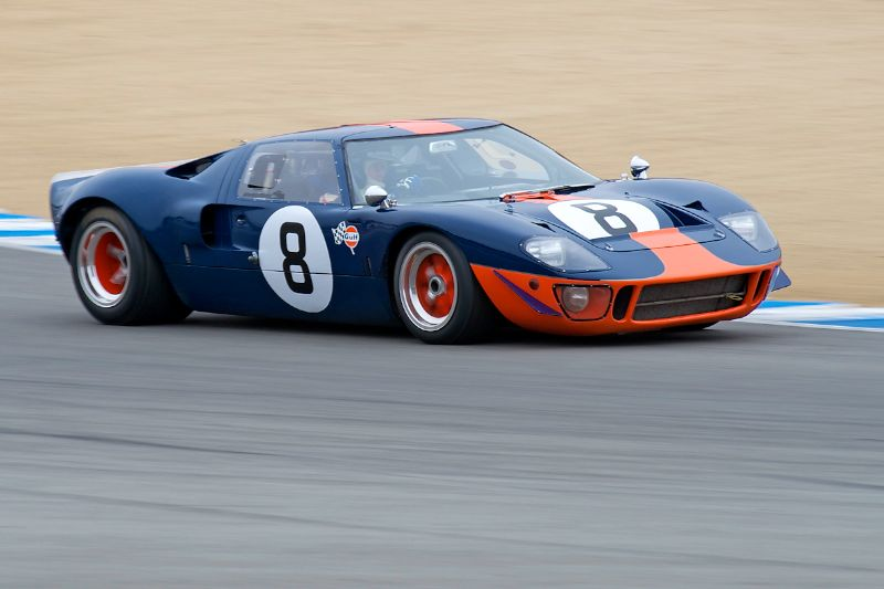 Chris MacAllister's 1966 Forrd GT40 in five.