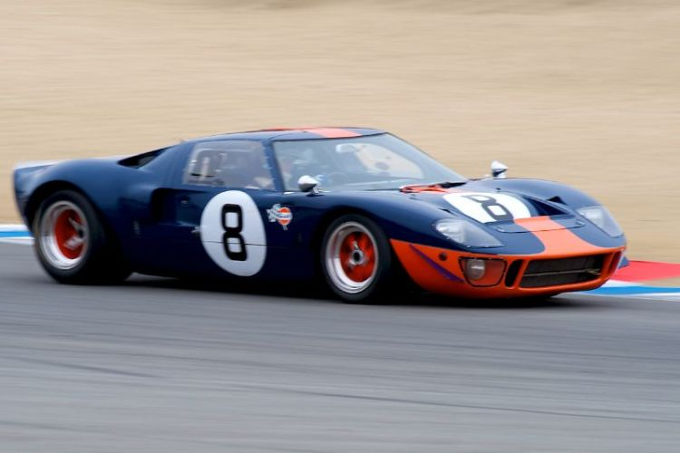 Chris MacAllister's 1966 Ford GT40 in five.