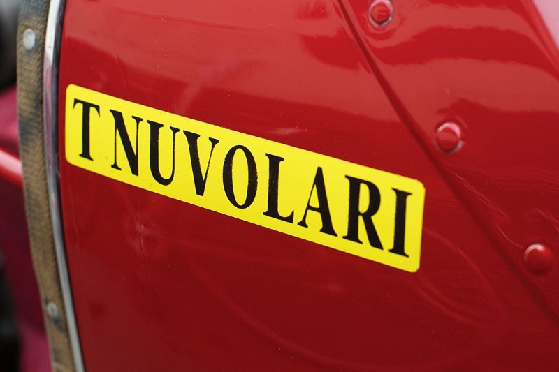 Tazio Nuvolari drove this car to defeat the vaunted German Silver Arrows.