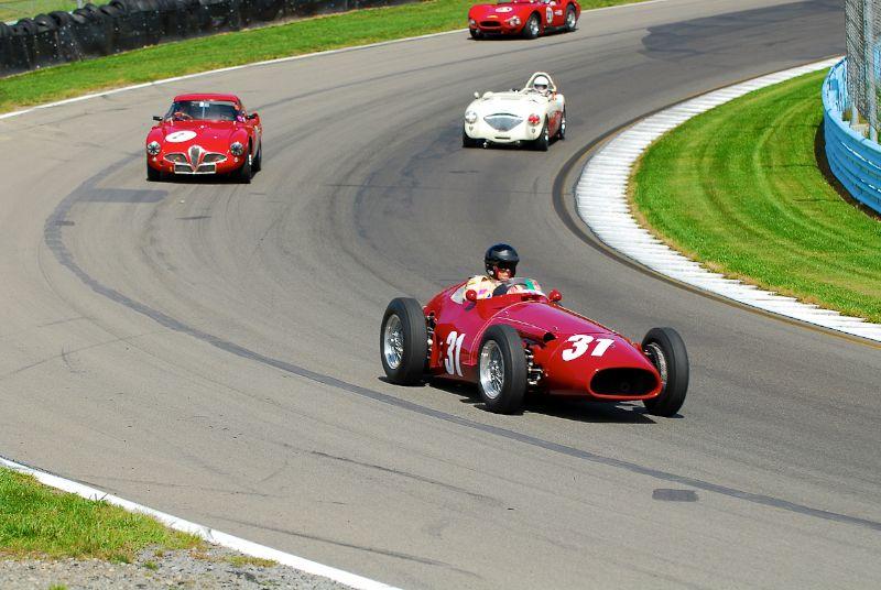 1953 Maserati 250F- Peter Giddings.