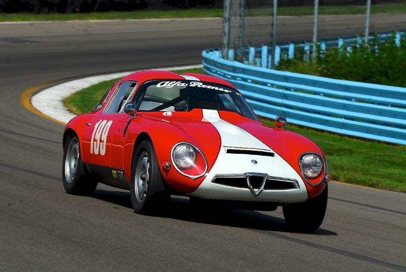 1964 Alfa Romeo TZ-1- Jay LLiohan.
