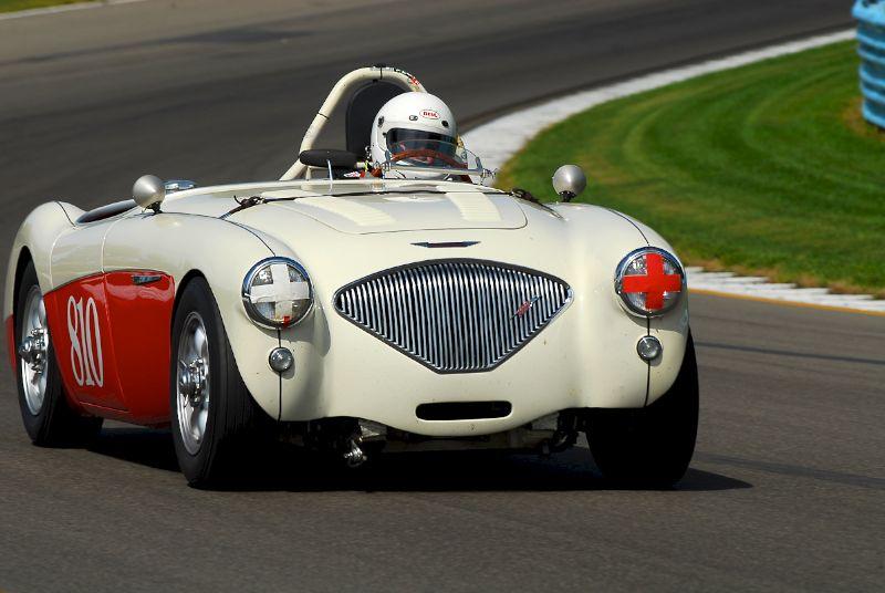 1954 Austin Healey 100M- Bruce Earle.
