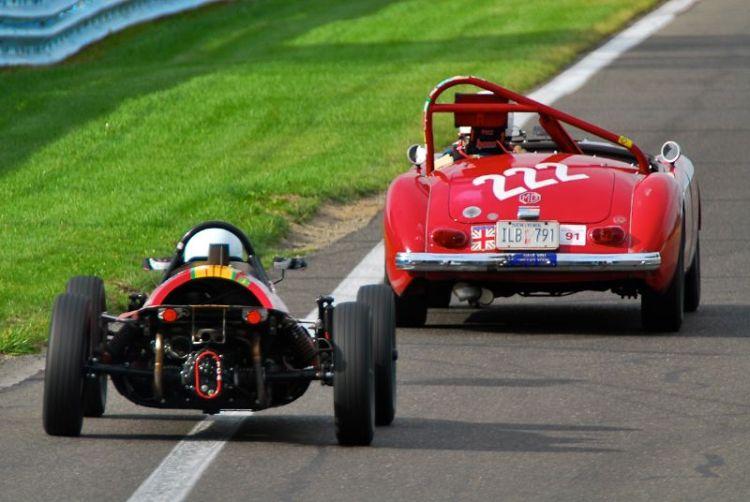 1962 MGA and 1968 Zink C4 (F/V).