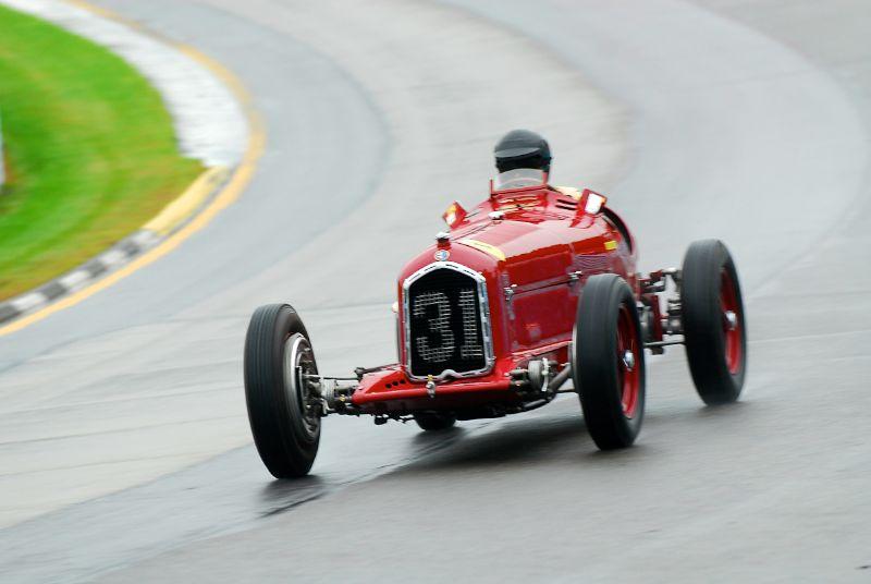 1931 Alfa Romeo Tipo B (P3).- Peter Giddings.