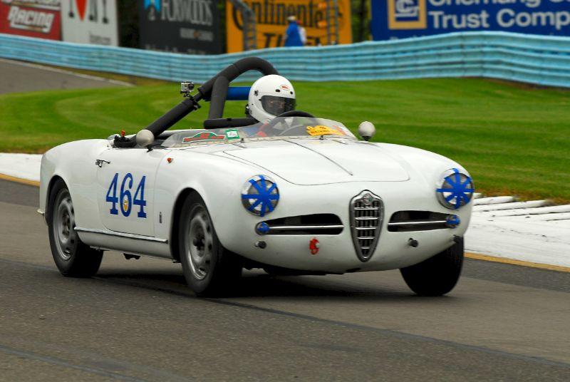 1959 Alfa Romeo Giulietta Spider, Chuck Woodworth.