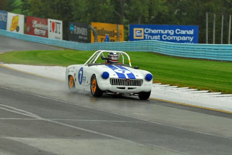 1962 MG Midget- Harry Gentry.