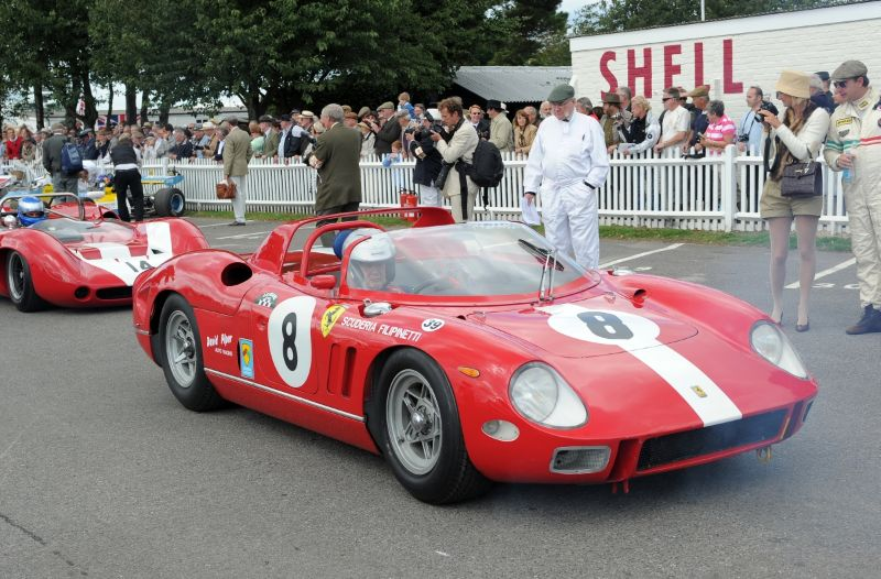 John Surtees Tribute at Goodwood Revival 2010