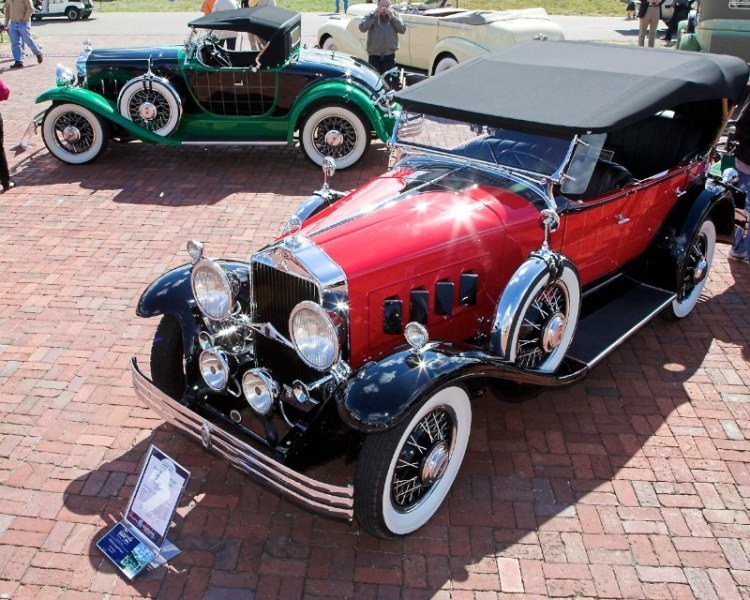 1930 Willys Plaidside Phaeton New York auto show car  with matching Roadster