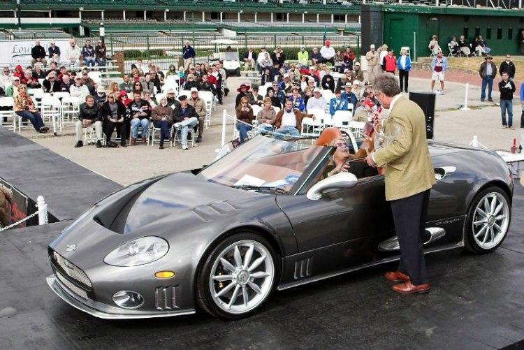Contemporary Super Cars 2006 Spyker Spyder David Horstmeyer Cincinnati, OH