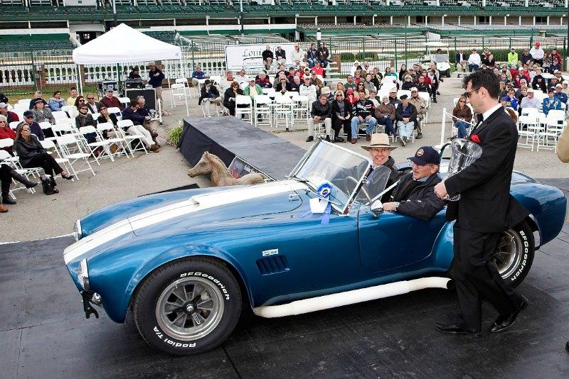 Vintage Race Cars - 1964 AC Cobra (original factory team  car), Ron & Cheryl Finger, Savannah, GA