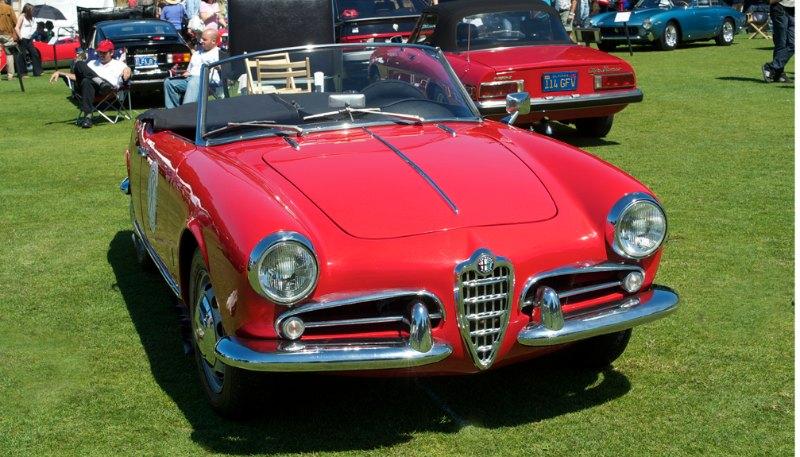 Alfa Romeo Giulietta Spyder.