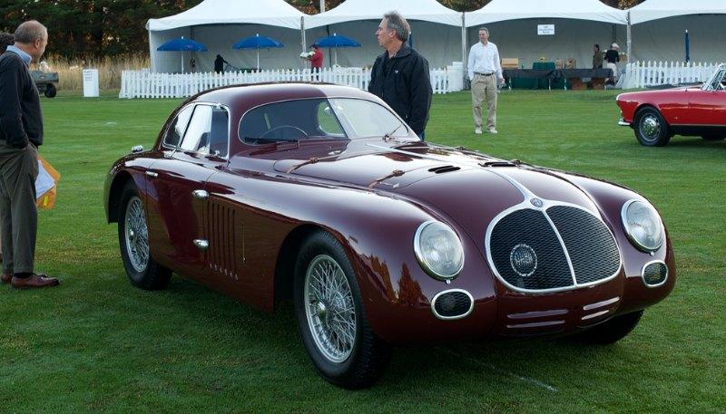 1939 Alfa Romeo 6C 2500SS Berlinetta Aerodinamica.