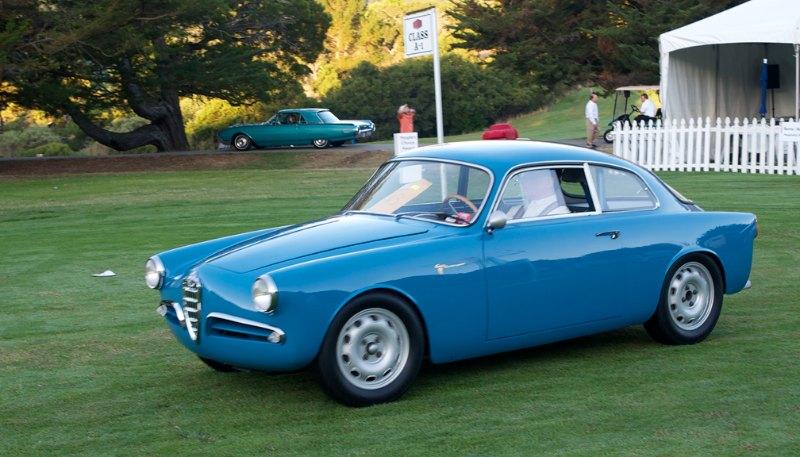 1957 Alfa Romeo Sprint arrives early.