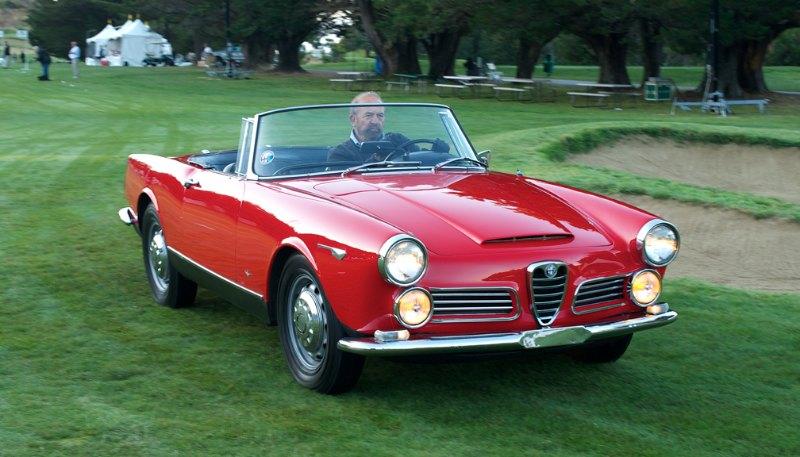 1964 Alfa Romeo 2600 Spyder.