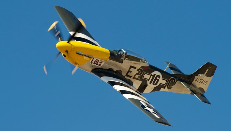 Unlimited.  P-51 Mustang, 'Lou IV' - Chuck Greenhill.