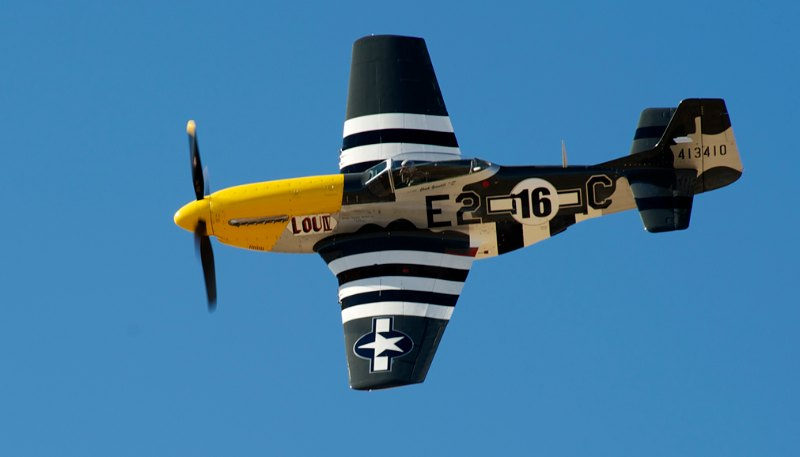 Unlimited. P-51 Lou 1V. Chuck Greenhill.