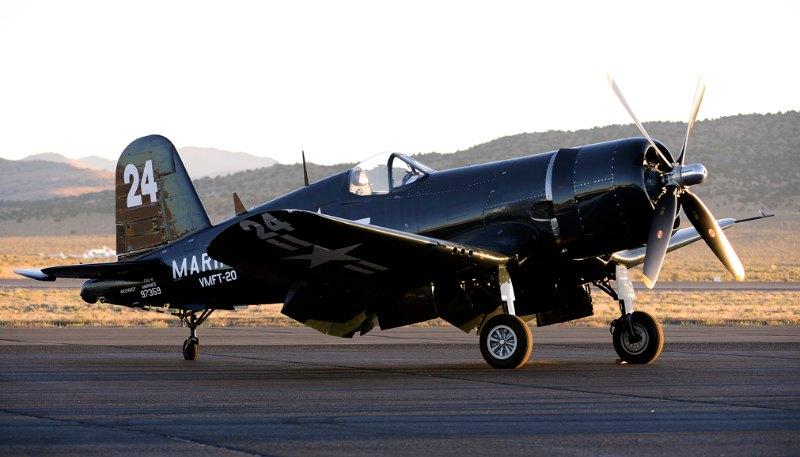 F4U-4 Corsair. Doug Matthews.