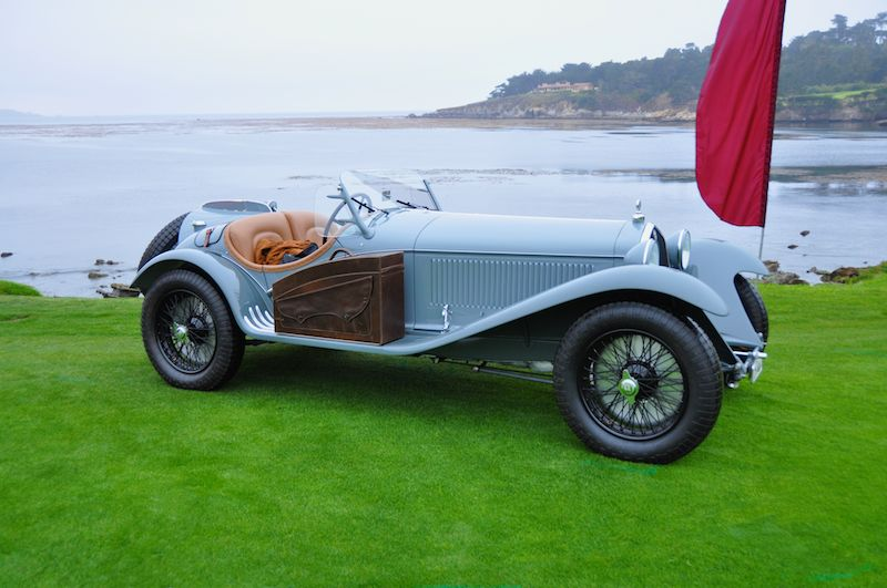 1933 Alfa Romeo 8C 2300 Touring Short Chassis Spider, Lukas Hunid