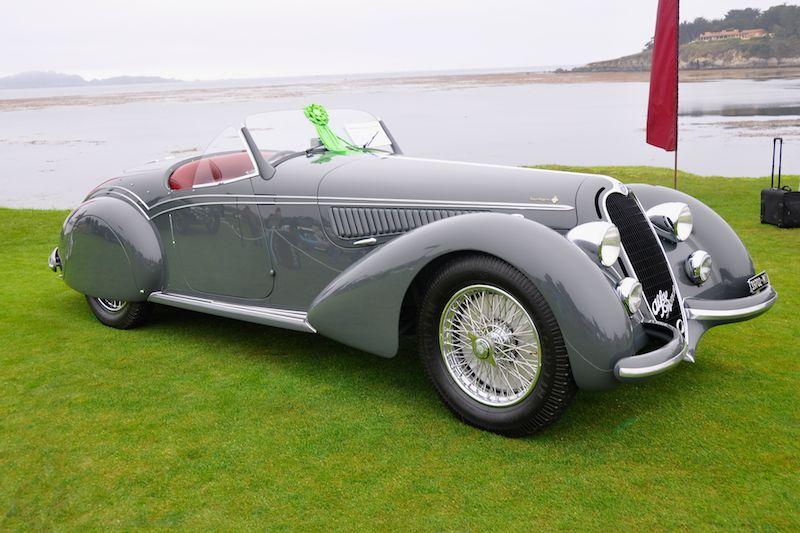 1938 Alfa Romeo 8C 2900 Touring Spider, William 'Chip' Connor
