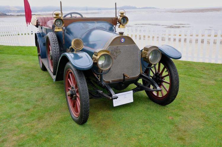 1910 A.L.F.A. 24hp Torpedo, Alfa Romeo Museo