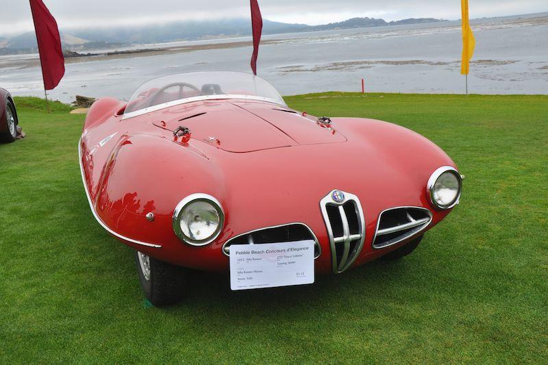 1952 Alfa Romeo C52 'Disco Volante' Touring Spider, Alfa Romeo Museo
