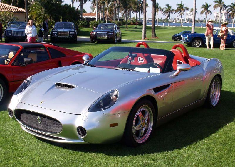 Ferrari Zagato Barchetta 550 of 2000