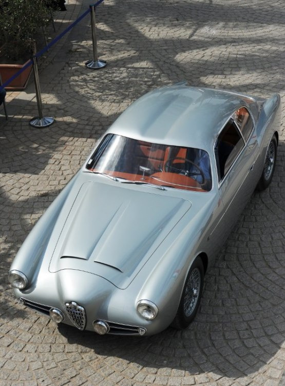 1956 Alfa Romeo 1900 Zagato Double Bubble