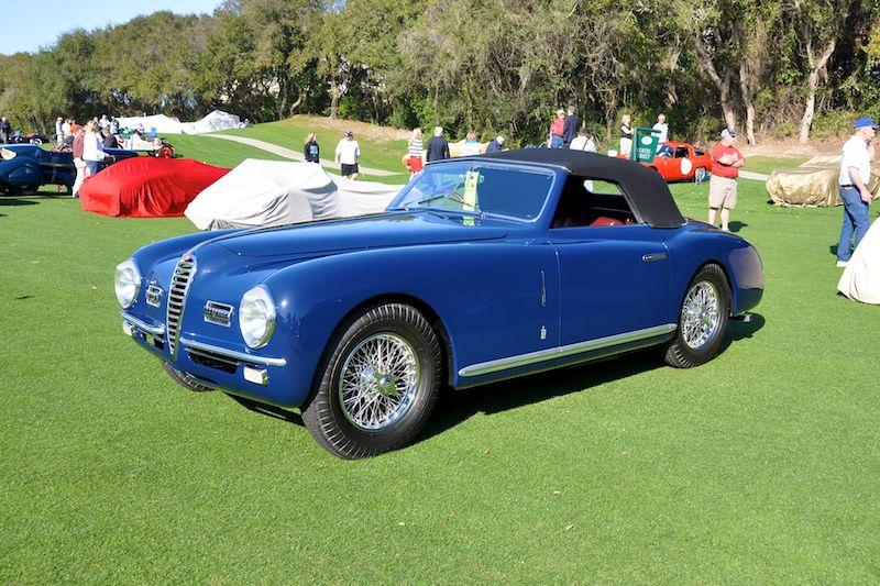 1949 Alfa Romeo 6C 2500 SS Cabriolet - Richard Grant