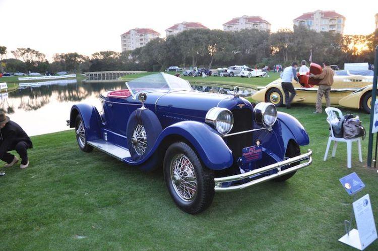 1927 Duesenberg 'X' Boat Roadster - Peter Heydon