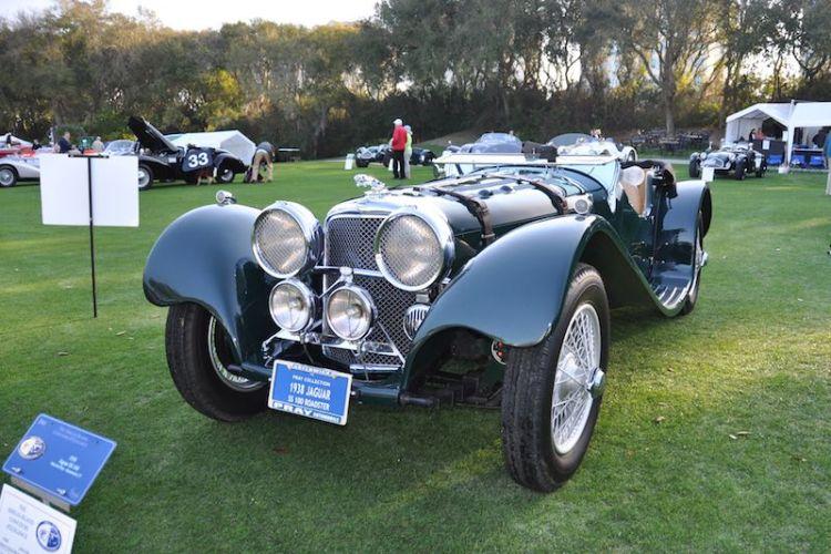 1938 Jaguar SS100 Roadster