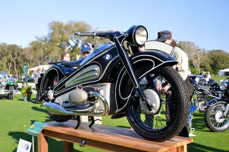 1934 BMW R7 Motorcycle - BMW Group Classic