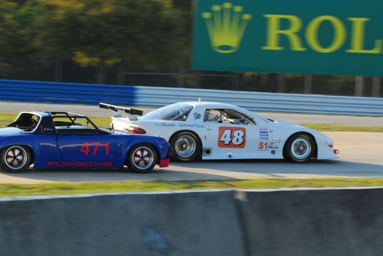 #48- David Rankin- 1997 Camero 11T/A-2 and #471- Porsche 914/6 of Jim Thompson.