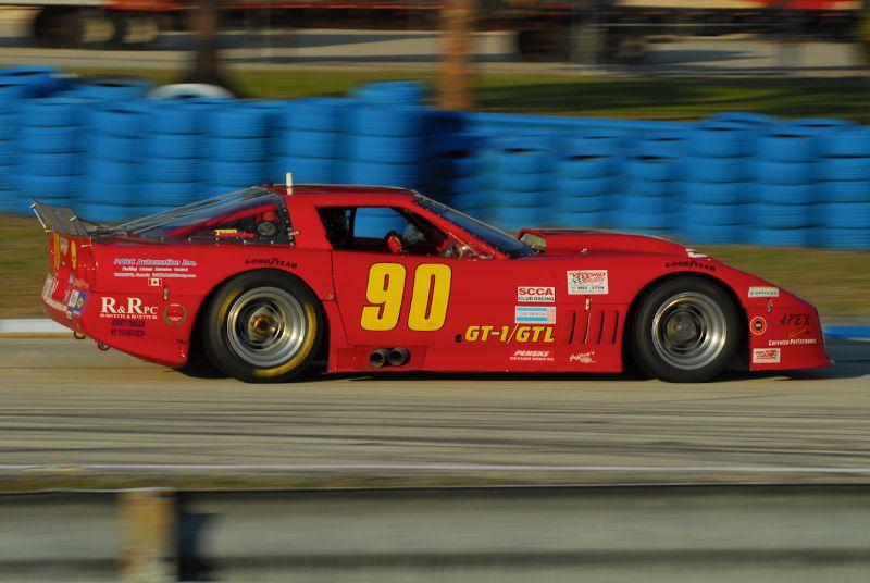 #90- Jeff Bernatovich, GT1 Corvette.