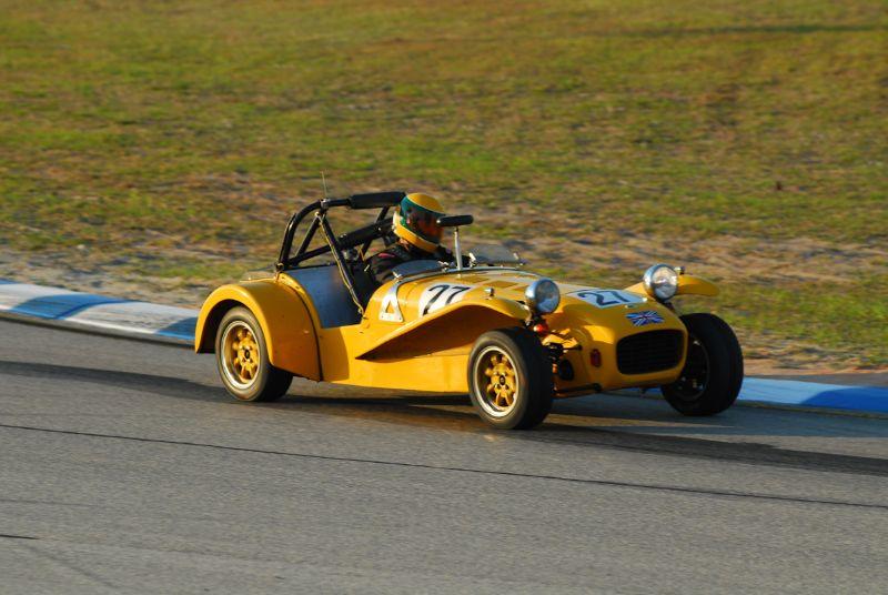 Andrew Barron 1969 Lotus 7.