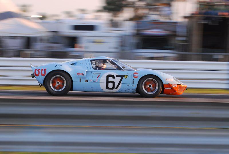 Dennis Olthoff 1965 GT40.