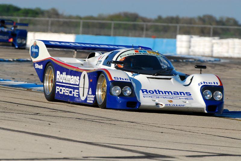 Porsche 962, Johan Woerheide.