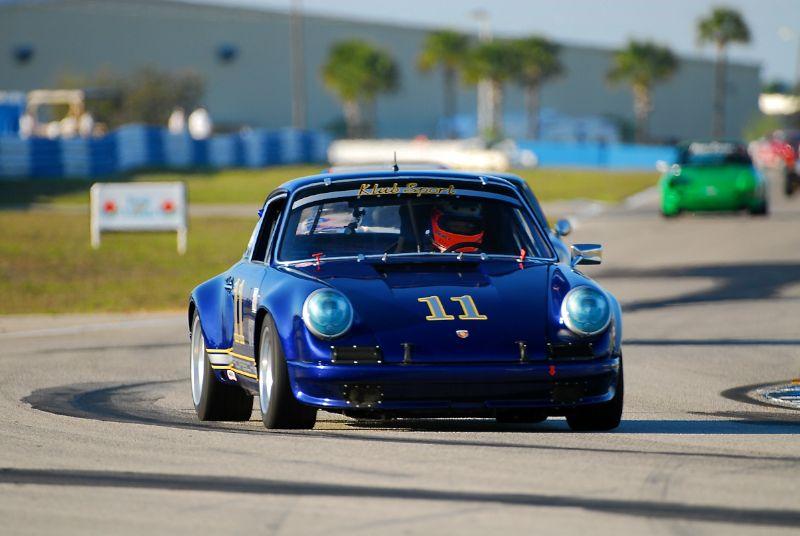 #11- Bruce Ellsworth- Porsche 911ST.