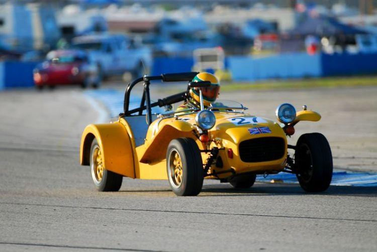 Andrew Barron- 1969 Lotus 7.